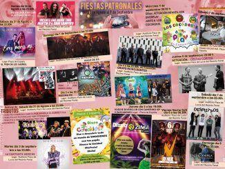 Cartel de las Fiestas Patronales de Alcorcón 2019