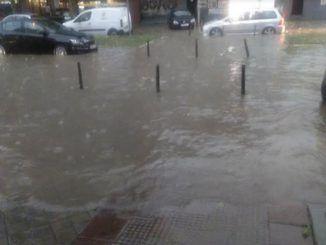Inundaciones en Fuenlabrada.