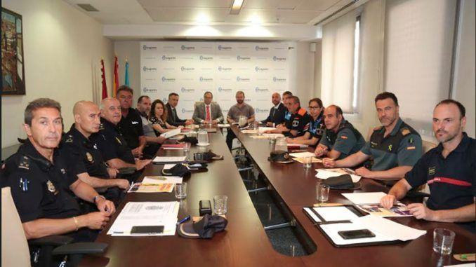 Junta Local de Seguridad de Leganés con motivo de sus Fiestas de Butarque