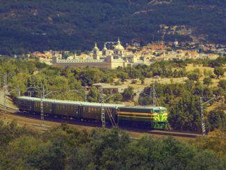 Tren histórico de la Comunidad de Madrid