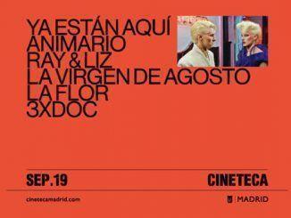 Cartel de la programación de septiembre de la Cineteca de Madrid.