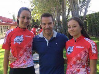 Dos fuenlabreñas campeonas de la COPA MADRID RUTA FÉMINAS 2019.