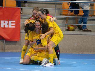 ADAFSF celebrando su segunda victoria consecutiva.