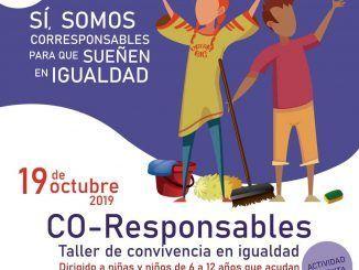 Cartel del programa 'Convivencia en igualdad: Co-responsables'.