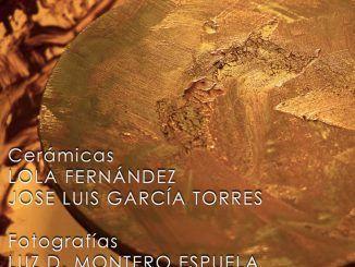 """Cartel de """"Retorno al torno"""", piezas para un homenaje en el Espacio Alfarería de Alcorcón."""