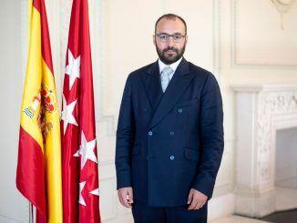 El consejero de Economía, Empleo y Competitividad Manuel Giménez.