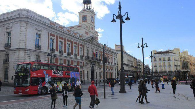 Turismo en Madrid.