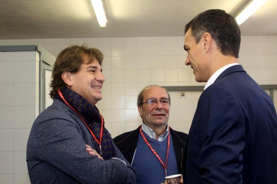 Javier Ayala y Pedro Sánchez