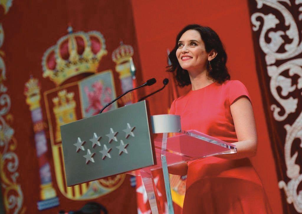 Entrevista Isabel Díaz Ayuso