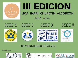 Liga Inari Chupetines de Alcorcón