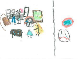 Móstoles acoge una muestra de dibujos de menores víctimas de violencia de género.