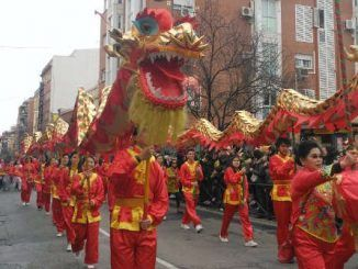 En qué fecha cae el año nuevo chino