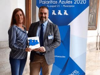Fuenlabrada, única ciudad de la Comunidad de Madrid en revalidar por cuarto año consecutivo las Tres pajaritas azules del reciclado de papel y cartón