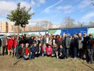 El alcalde hace entrega de los 70 Huertos Comunales de Loranca