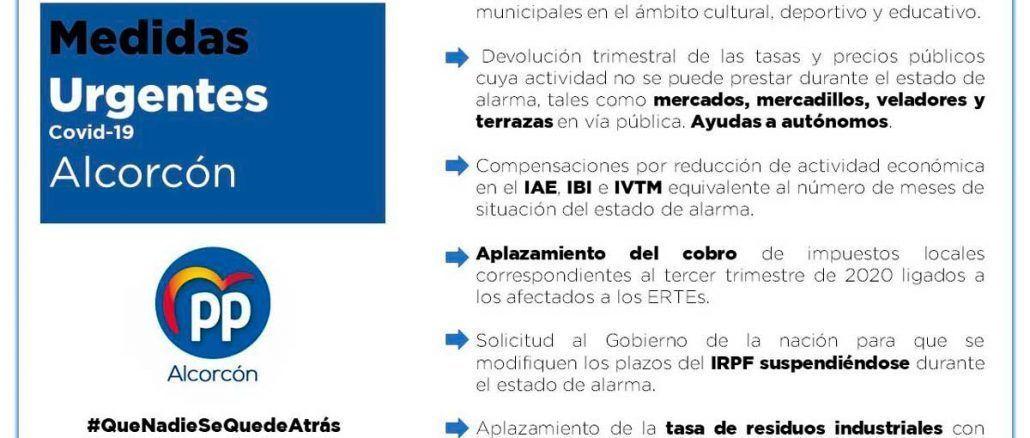 Medidas PP Alcorcón Coronavid-19