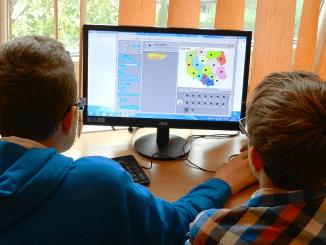 niños ordenador
