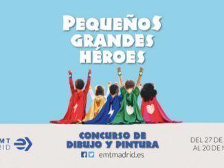La EMT lanza el concurso de dibujo 'Pequeños grandes héroes'
