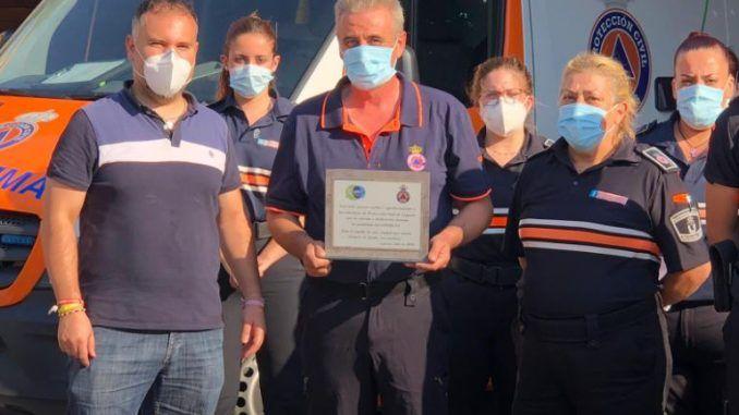 ULEG homenajea a Protección Civil