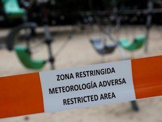 Móstoles cierra hoy los principales parques verdes ante la previsión de fuertes vientos