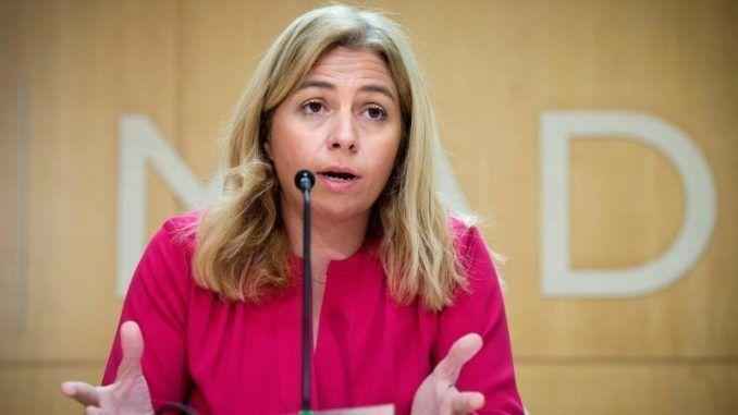 La portavoz municipal y delegada de Seguridad y Emergencias del Ayuntamiento de Madrid, Inmaculada Sanz.