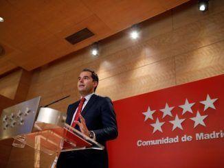 Vicepresidente de la Comunidad de Madrid, Ignacio Aguado