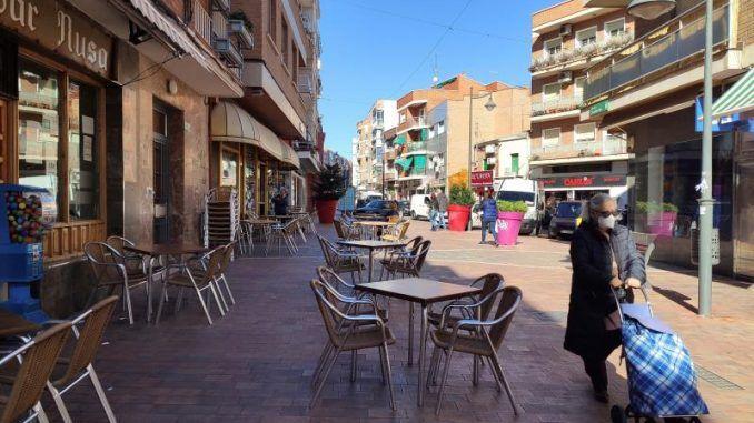 Terraza de un bar de Alcobendas