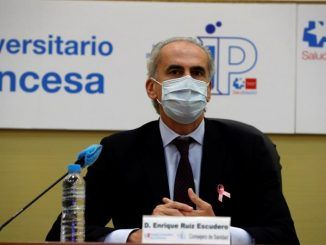 Consejero de Sanidad, Enrique Ruiz Escudero