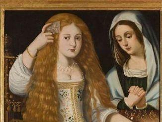 Anónimo, Alegoría de la Vanidad o Retrato de La Calderona