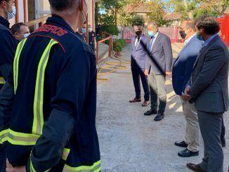 Los Bomberos de Leganés ya pertenecen al cuerpo de Bomberos de la Comunidad de Madrid