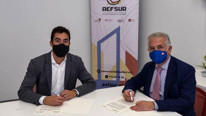 AEFSUR y Avalmadrid firman un convenio de colaboración