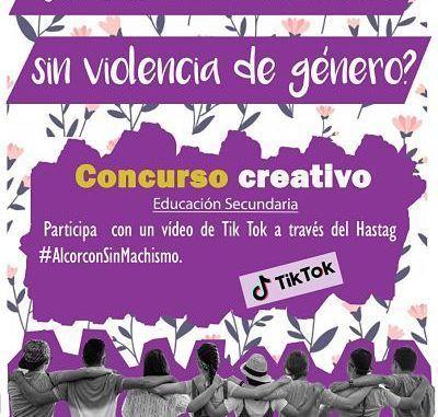 Dos concursos creativos invitan a estudiantes de Primaria y Secundaria a imaginar un Alcorcón sin violencia de género