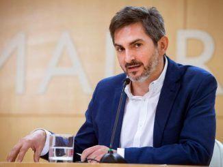 El delegado de Familias, Igualdad y Bienestar Social del Ayuntamiento de Madrid, Pepe Aniorte.