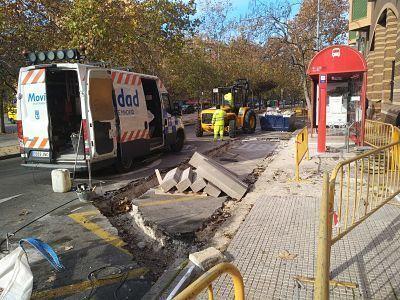 Accesibilidad en las paradas de autobús de Alcorcón