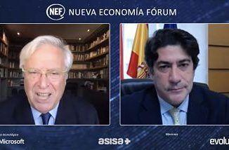 El consejero de Vivienda y Administración Local, David Pérez, ha participado hoy, en el debate La Vivienda en España: Retos postCovid.