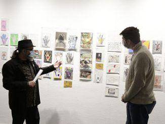 Exposición de Arte Postal en Móstoles