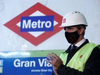 El consejero de Transportes, Movilidad e Infraestructuras de la Comunidad de Madrid, Ángel Garrido
