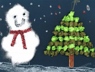 El Ayuntamiento felicita las Fiestas con tarjetas navideñas elaboradas por niños y niños de la ciudad