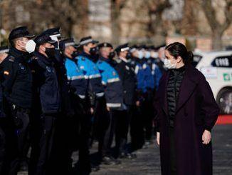 Homenaje a Policías Locales de la Comunidad de Madrid