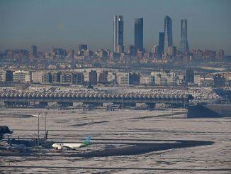 Vista del aeropuerto Adolfo Suárez Madrid Barajas