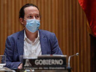 l vicepresidente segundo del Gobierno y ministro de Derechos Sociales y Agenda 2030, Pablo Iglesias.