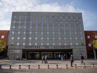 Fachada del hospital universitario Fundación Alcorcón