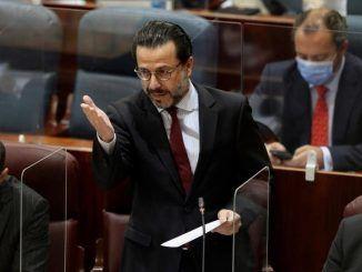 El consejero de Hacienda y Función Pública, Javier Fernández-Lasquetty.