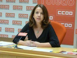 Raquel Payo, secretaria regional de Política Institucional y Salud Laboral CCOO CLM.