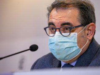consejero de Sanidad, Jesús Fernández Sanz