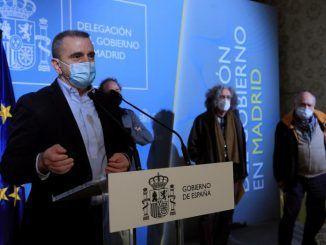 El delegado del Gobierno en la comunidad de Madrid, José Manuel Franco