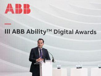 Ignacio Aguado, ha participado en la tercera edición de los Premios ABB AbilityTM Digital Awards.