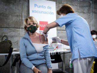 """Aguirre defiende la """"excelente"""" gestión de las vacunas por parte de Ayuso"""