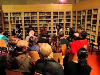 El antigüo club de lectura del CIRAE, antes del covid