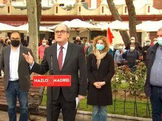 Ángel Gabilondo, visita Leganés con motivo de la campaña para las elecciones madrileñas del próximo 4 de mayo