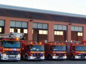 bomberos en Fuenlabrada